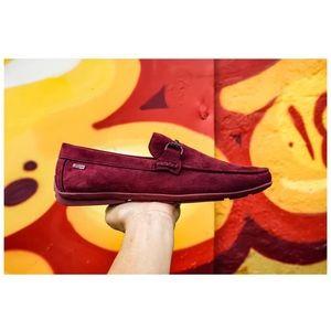 Gangsta loafers in BORDEAUX